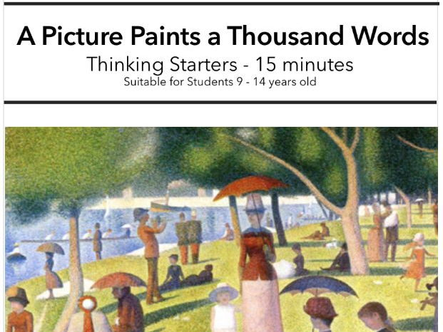 End of Term - Thinking Starters: A Picture Paints a Thousand Words! (15 minutes)