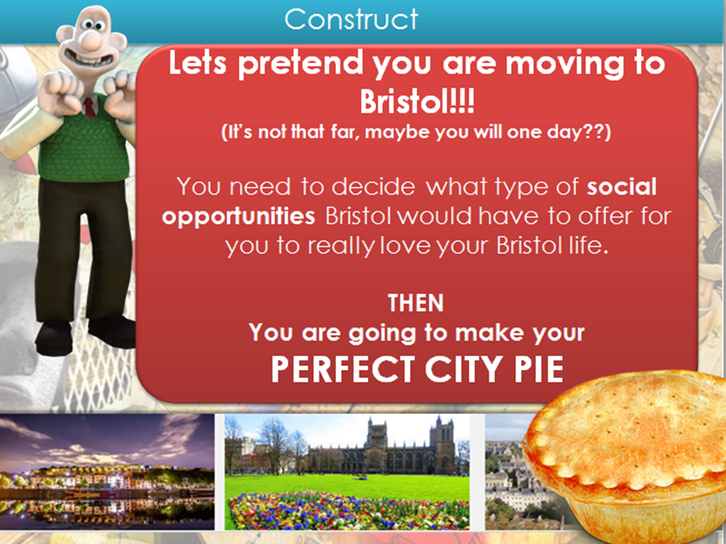HIC Bristol: Social opportunities, New Urban Unit AQA GCSE Geography