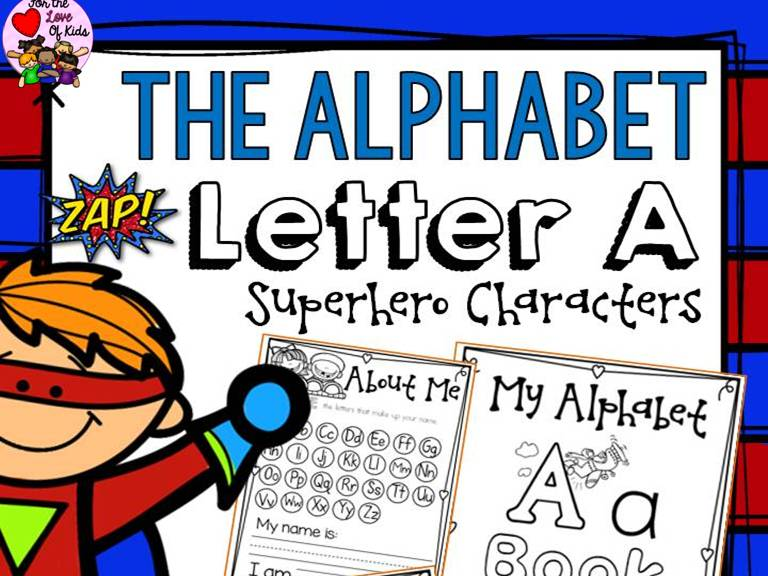PHONICS: THE ALPHABET {LETTER A}