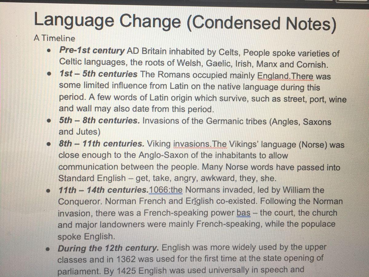 AQA Paper Two A Level English Language
