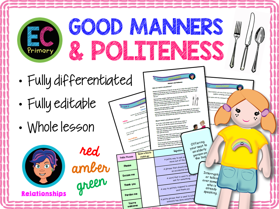 Manners and politeness