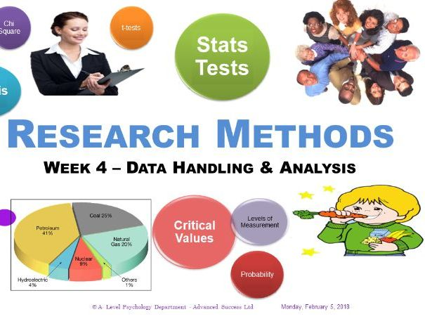 PowerPoint - Research Methods - Week 4 Data handling and analysis