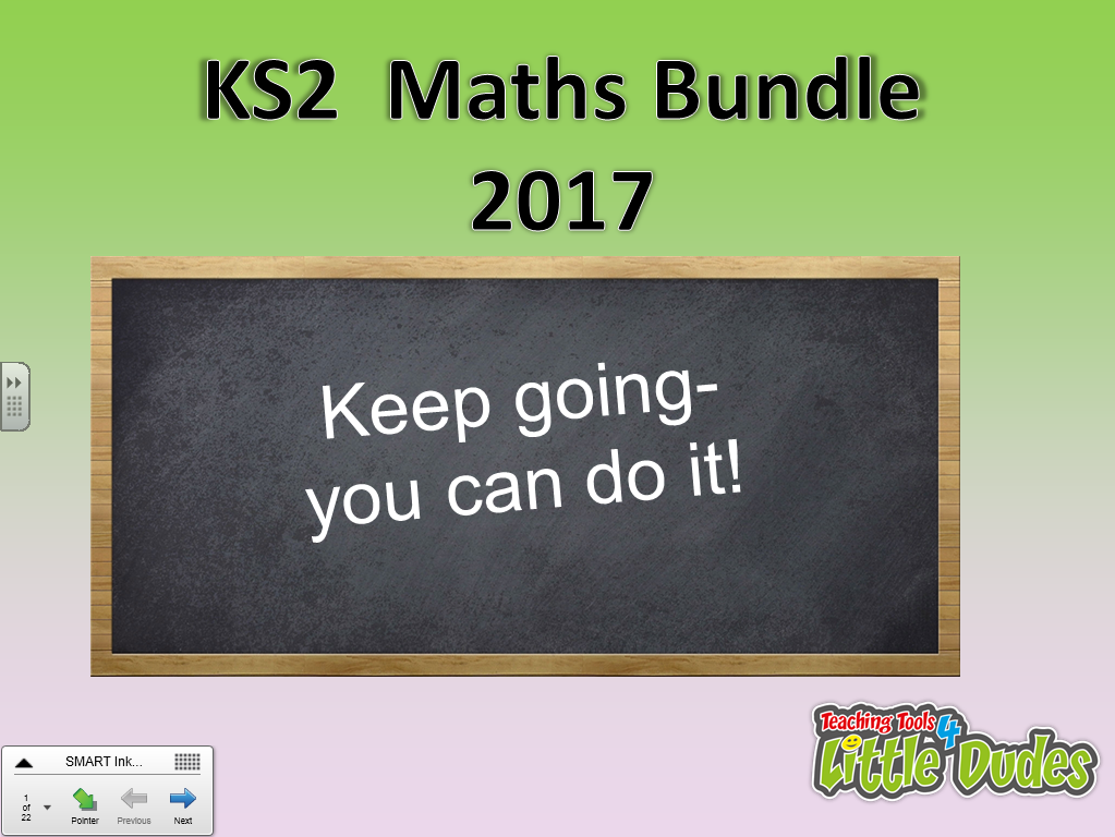 2017 Key Stage 2/KS2 SATS Maths Revision Bundle