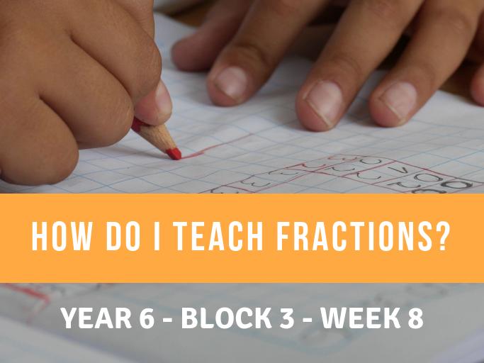 Fractions Year 6 Block 3 Week 8