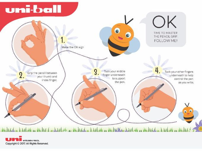 Free Downloadable Handwriting Worksheets from Uni-ball