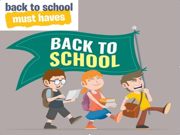Back to School  Must Haves Bundle Pack