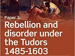 Rebellion and disorder under the Tudors 1485-1603