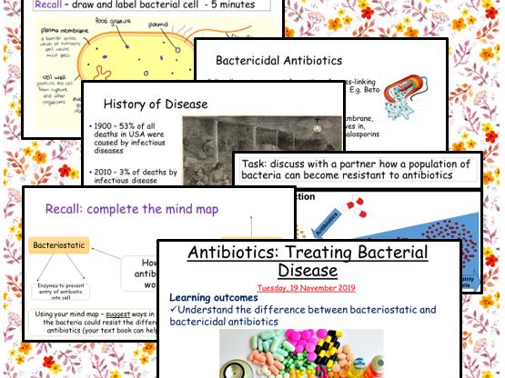 Antibiotics and Antibiotic Resistance (A level)