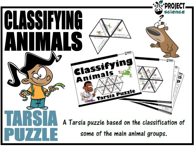 Classifying Animals Tarsia Puzzle