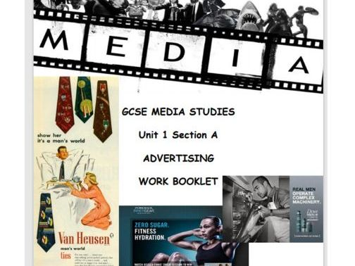 WJEC GCSE Unit 1 Section A Advertising Workbooklet