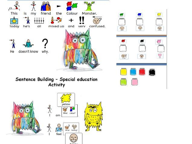 The Colour Monster story and activities