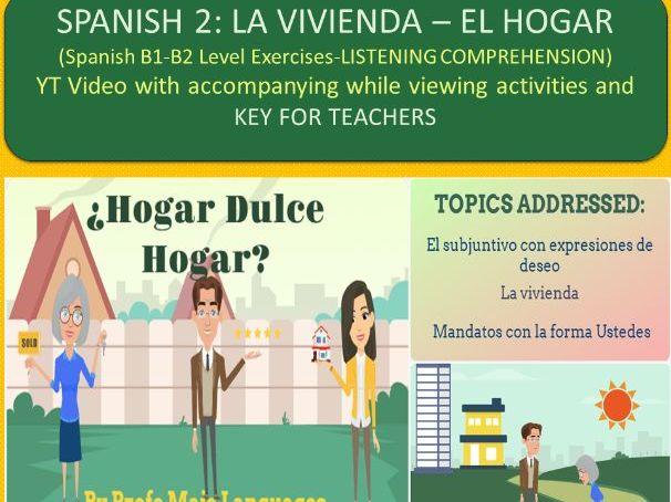 La vivienda y el subjuntivo - Present Subjunctive with HOUSE vocabulary