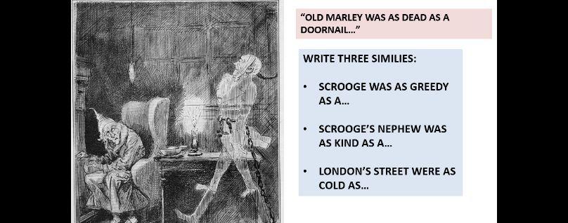 Year 9 'A Christmas Carol' - Marley's Ghost
