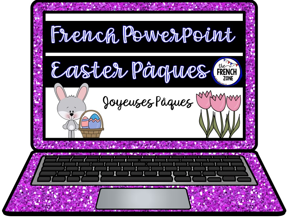French Paques Easter PowerPoint