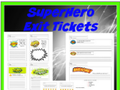 SuperHero Exit Tickets
