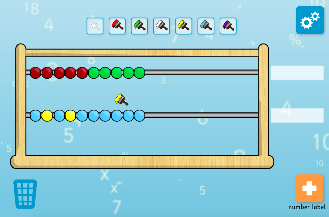 Interactive Abacus Tool - KS1 Number