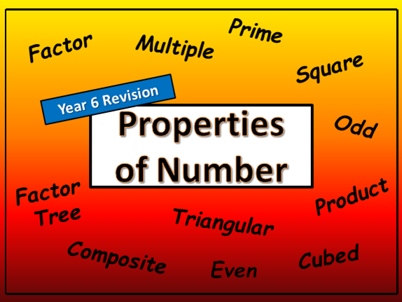 Properties of Number - Year 6 Revision