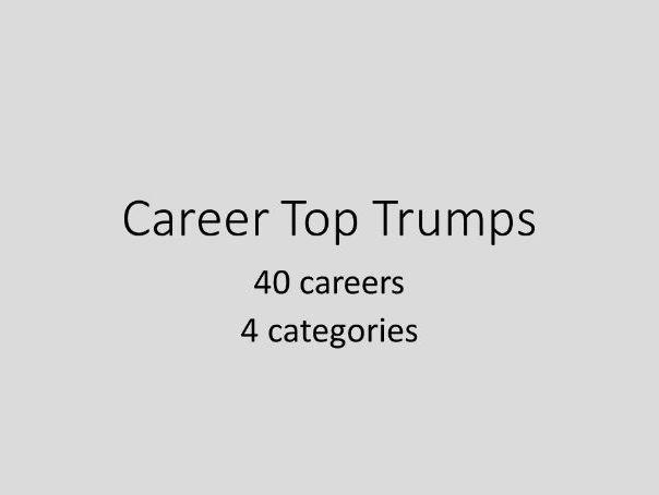 Career Top Trumps
