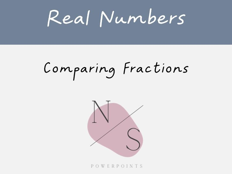 Comparing Fractions Lesson Presentation