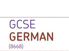 NEW GCSE German writing improvement model