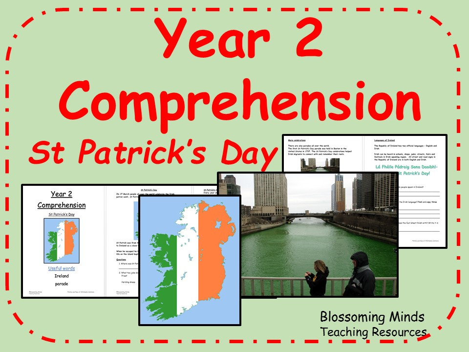 Year 2 Comprehension - St Patrick's Day