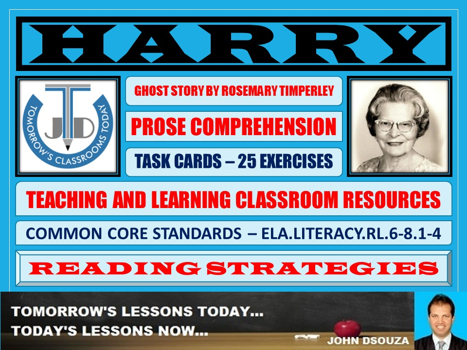 HARRY - STORY COMPREHENSION - TASKS AND EXERCISES