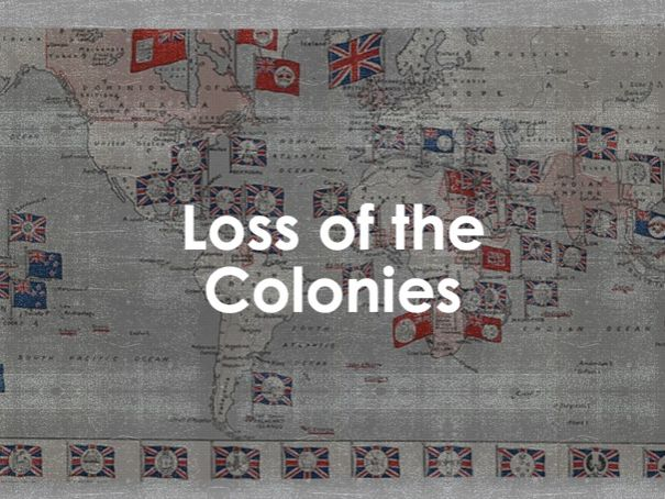AQA 9-1 Loss of the Colonies (Migration L22)