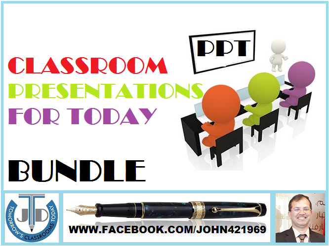 PRESENTATIONS FOR TODAY'S CLASSROOM: BUNDLE