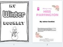 My winter booklet