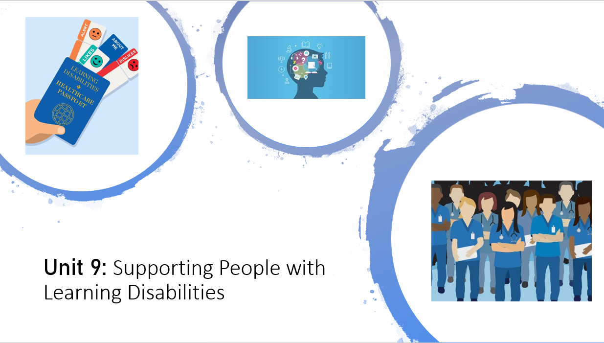 CTECH HSC Level 3Unit 9 Learning Disabilities Bundle