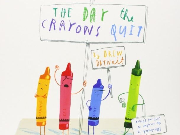 Year 1/2 Writing Plans and Resources: The Day The Crayon's Quit (Week 2 out of 2)
