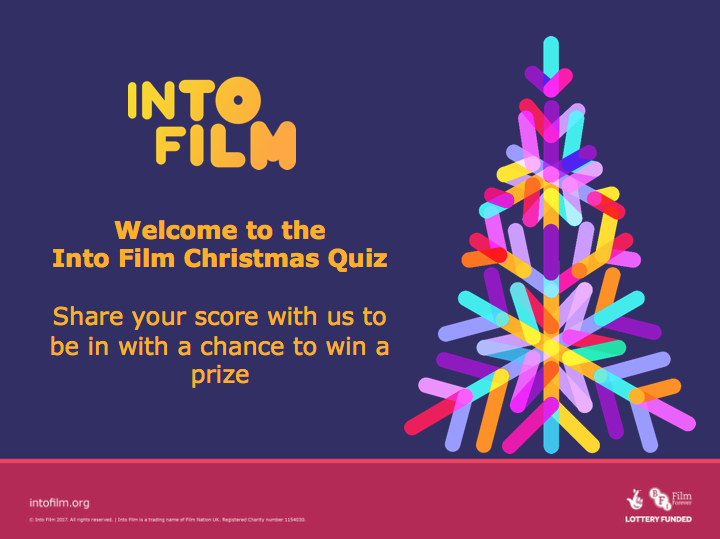 Into Film Christmas Quiz: 11-16