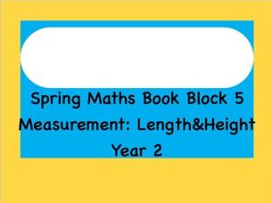Measurement- length and height