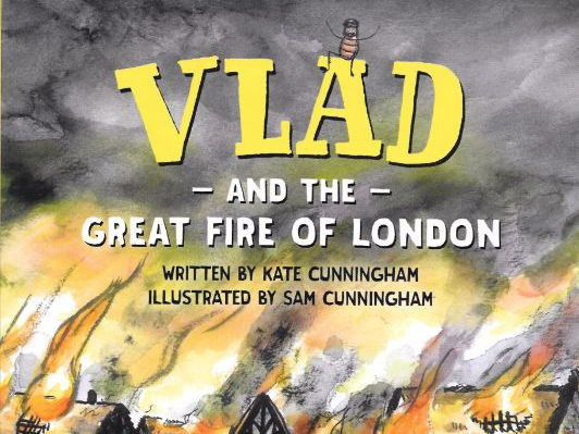 Vlad and the Great Fire of London planning for literacy diary writing