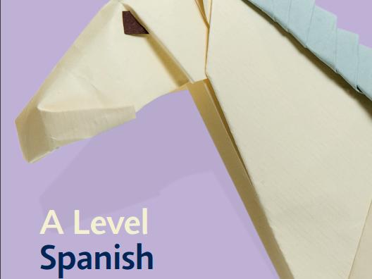 Edexcel (new) Spanish A Level Scheme of Work on 1 page. 2 teacher split.