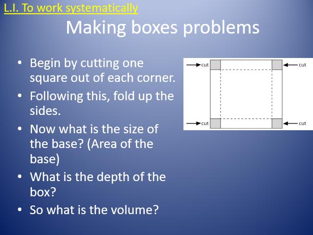 UKS2 Volume problem