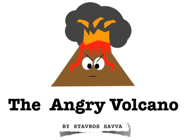 The Angry Volcano (PSHE Book)