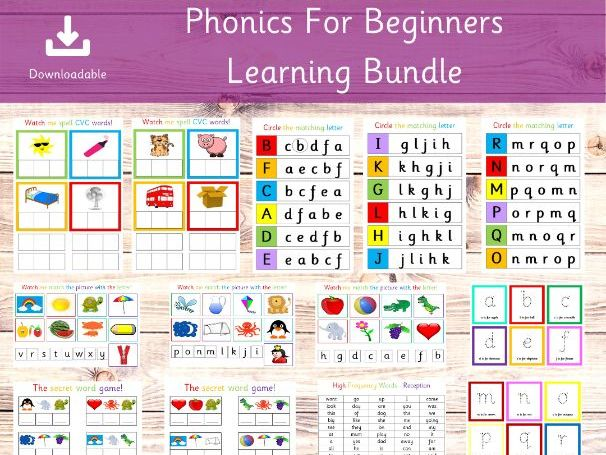 Beginners Phonics Collection
