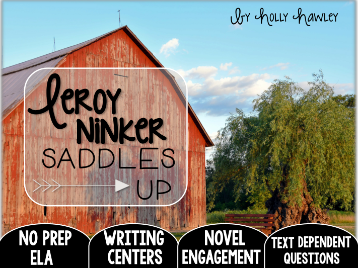 Leroy Ninker Saddles Up: Text Dependent Questions