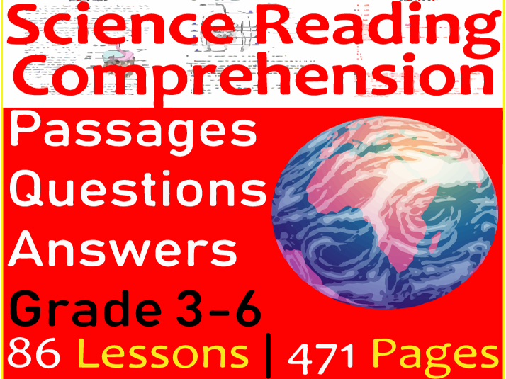 Science Reading | Bundle | Grade 3-6