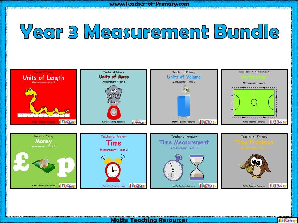 Year 3 Measurement Bundle