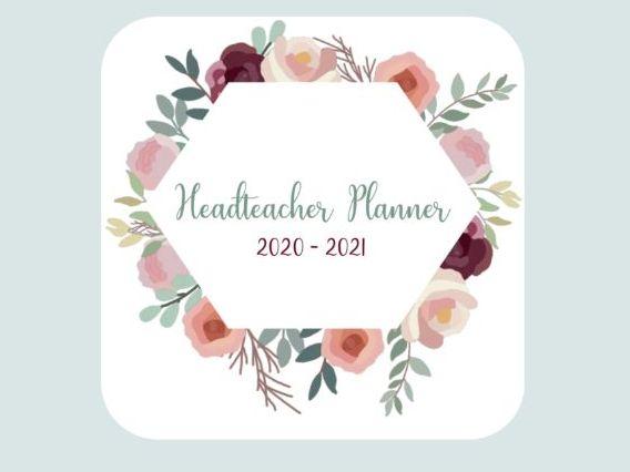 Headteacher Planner 2020-2021    'Floral Elegance'