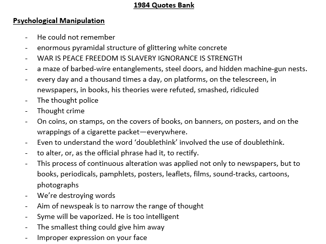 1984 thesis theme Thesis statement for 1984 find numerous options to develop 1984 thesis statement by george orwell.