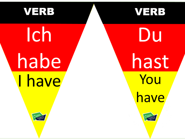 German Vocab Bunting