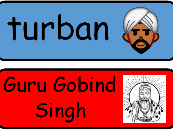 Vaisakhi Vocabulary KS1 and KS2, RE, Sikhism