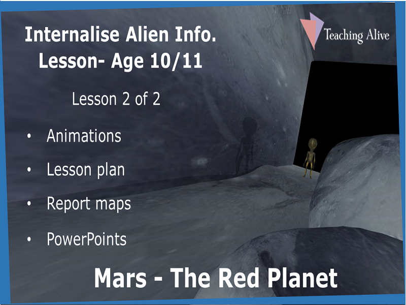 Age 10/11 Internalise Alien Info. Lesson- Animations & PowerPoints