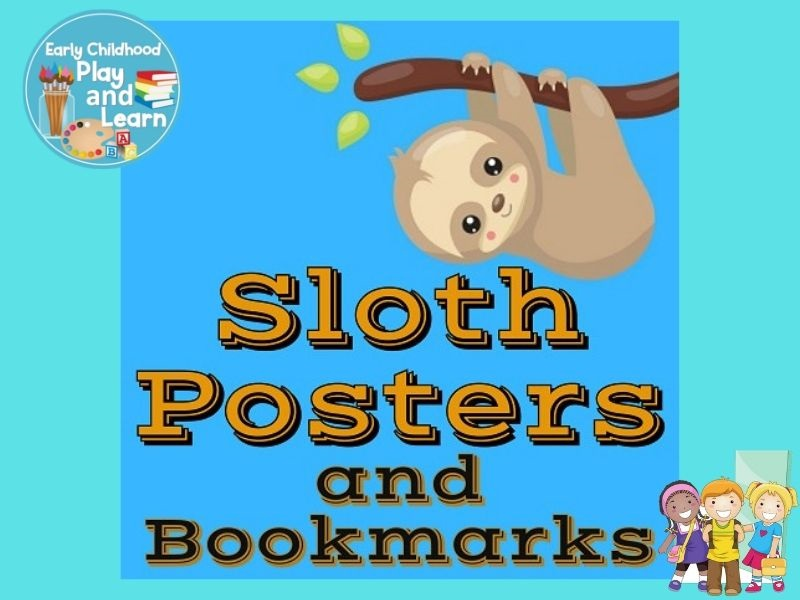 Sloth Classroom Posters