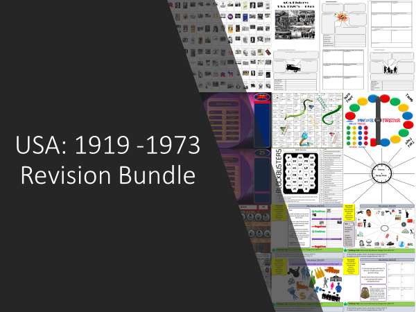 USA: 1919 - 1973 Revision Bundle