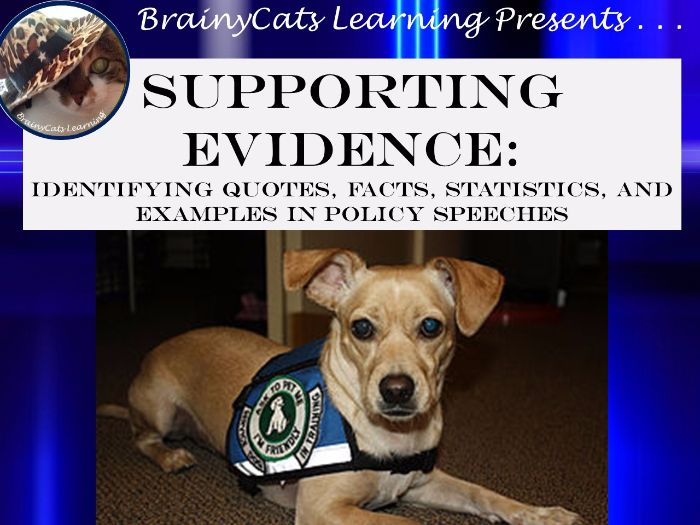 Supporting Evidence: Powerpoint Lesson, Reading, and Activities (TEKS 7.11A)