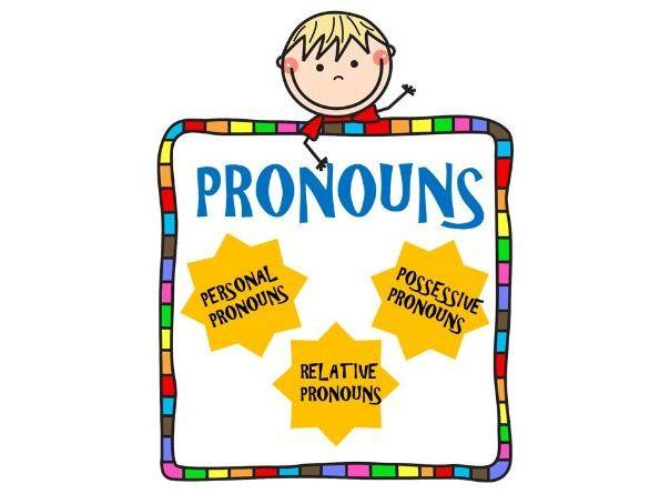 Pronouns-Personal, Possessive and Relative